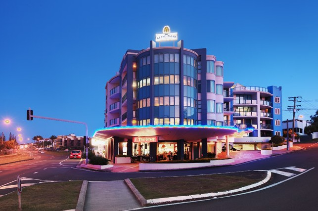 Grand Palais Beachside Resort - Kempsey Accommodation