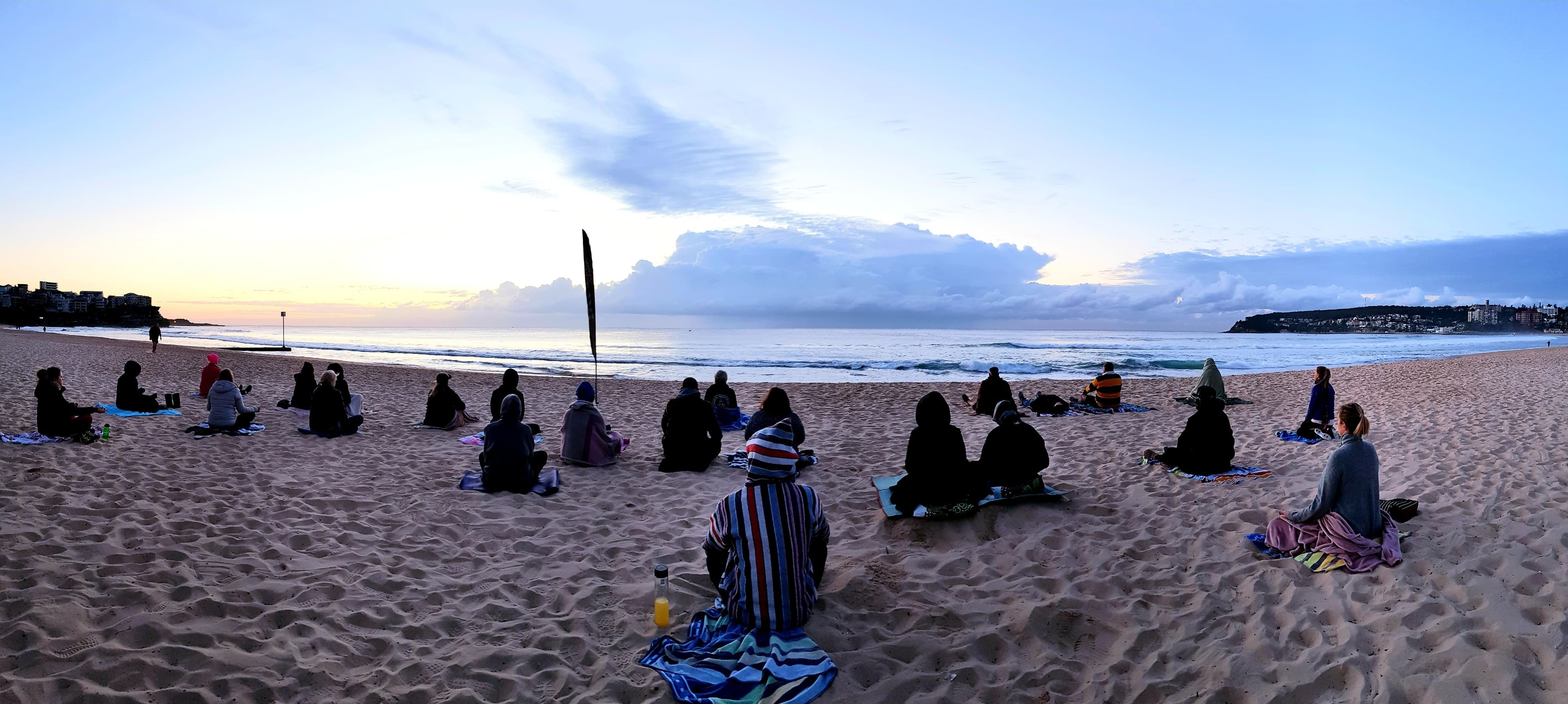 Making Meditation Mainstream Free Beach Meditation Sessions - Avalon Beach - Kempsey Accommodation