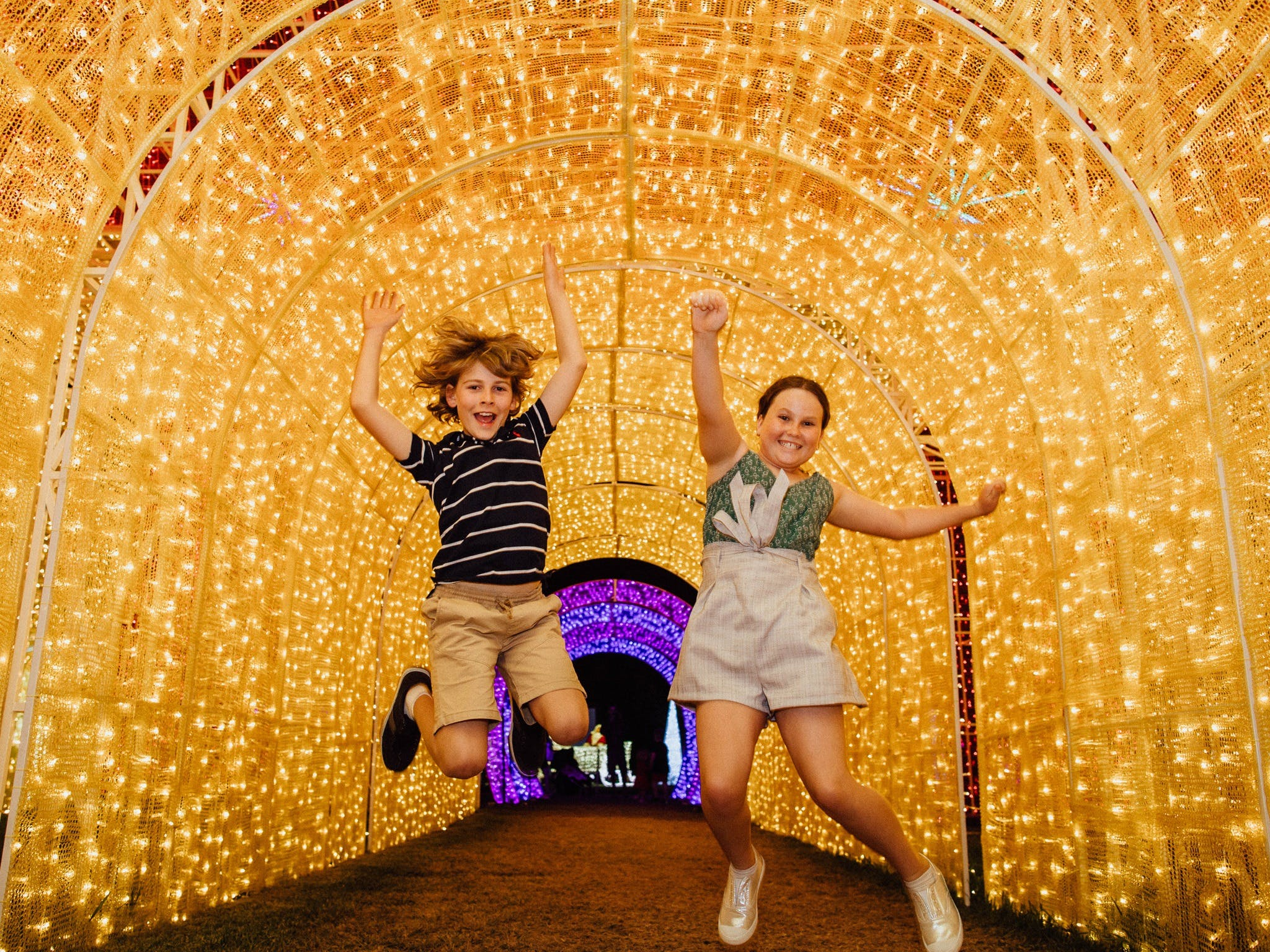 Christmas Lights Spectacular New Year's Eve at Hunter Valley Gardens - Kempsey Accommodation