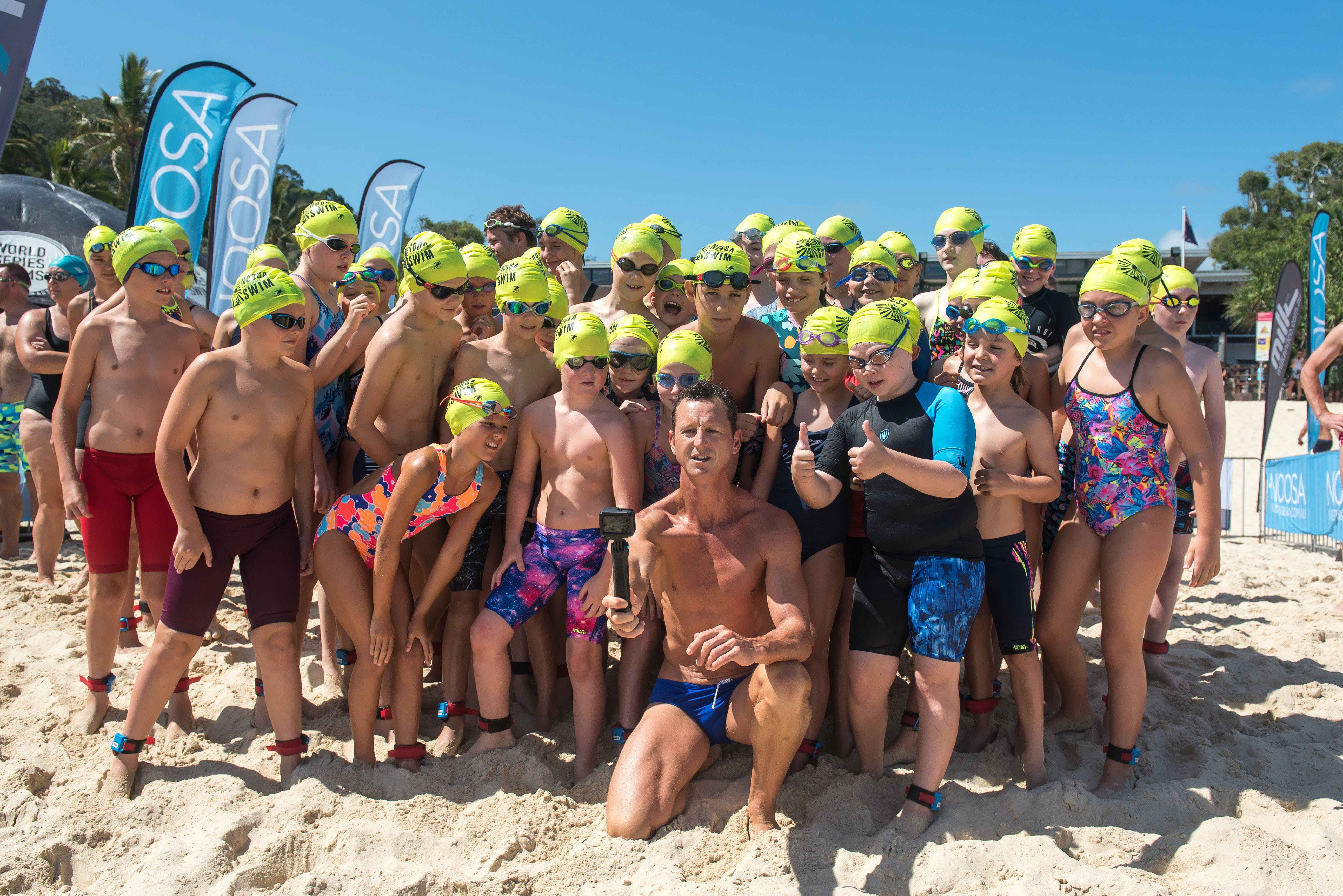 Noosa Summer Swim Festival 2021 - Kempsey Accommodation