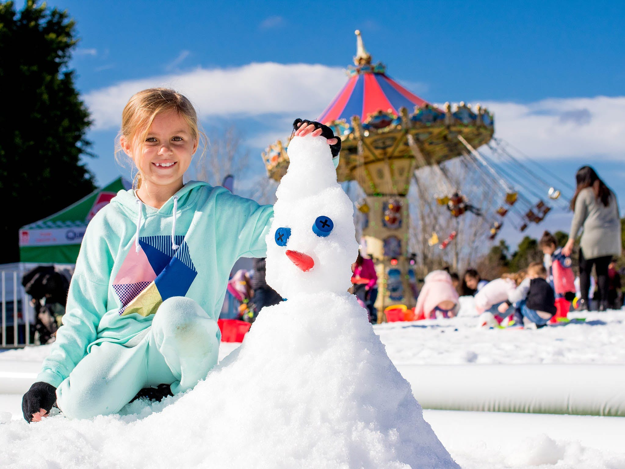 Snow Time in the Garden - Hunter Valley Gardens - Cancelled - Kempsey Accommodation