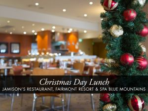 Christmas Day Buffet Lunch at Jamison's Restaurant - Kempsey Accommodation