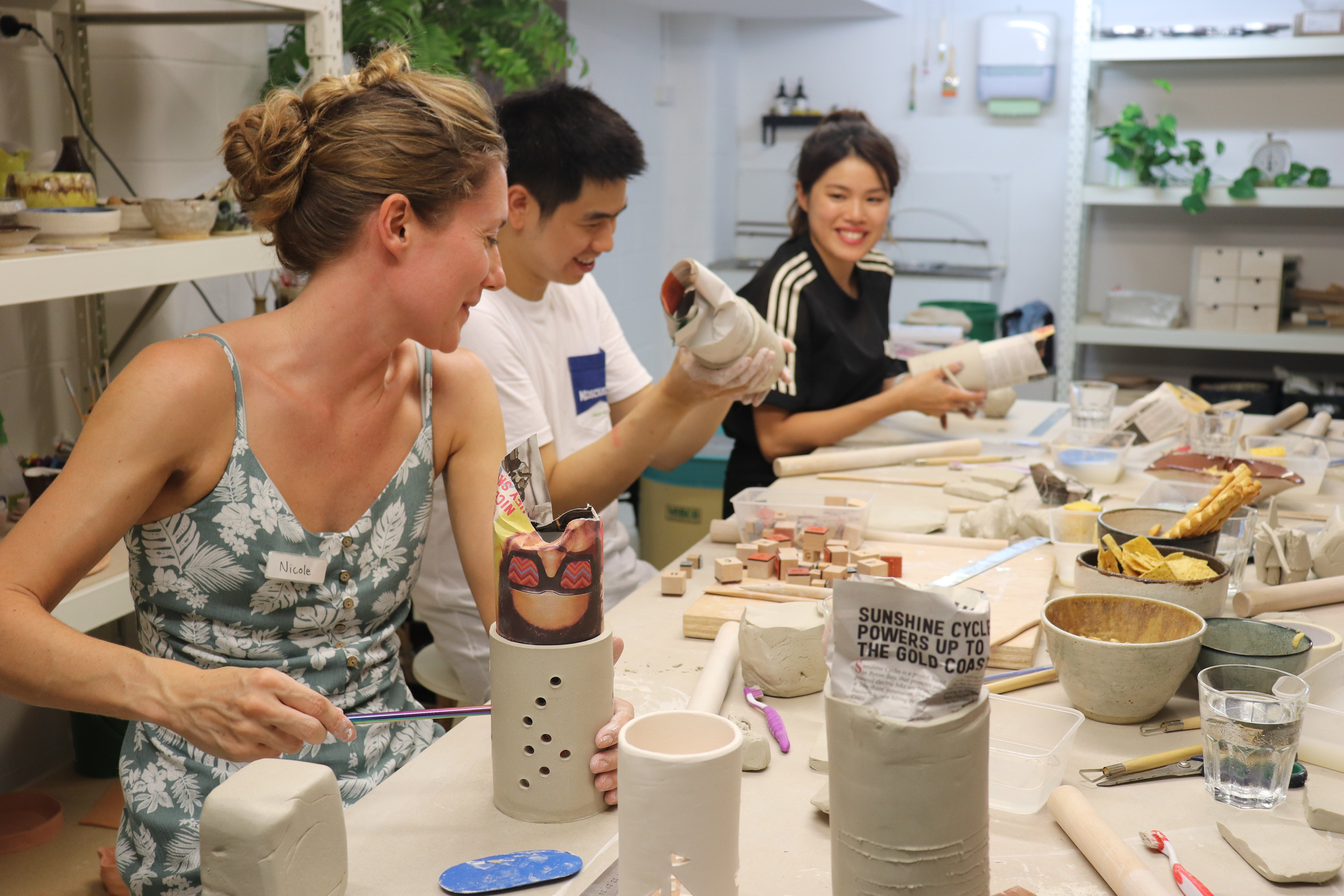 Hand Building Pottery Classes - Kempsey Accommodation